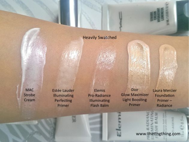 how to use mac strobe cream with foundation