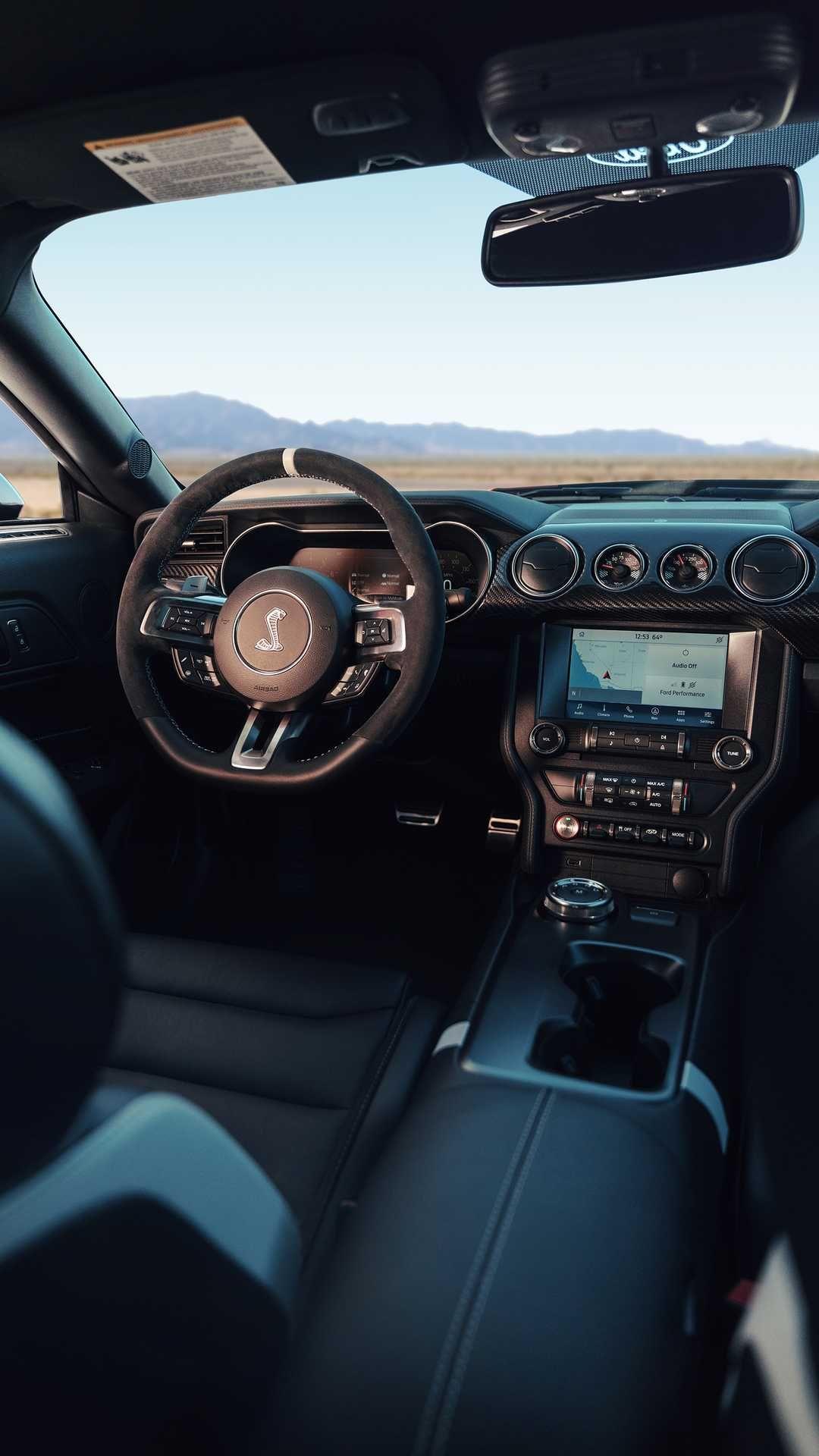 New 2020 ford mustang shelby gt500 interior