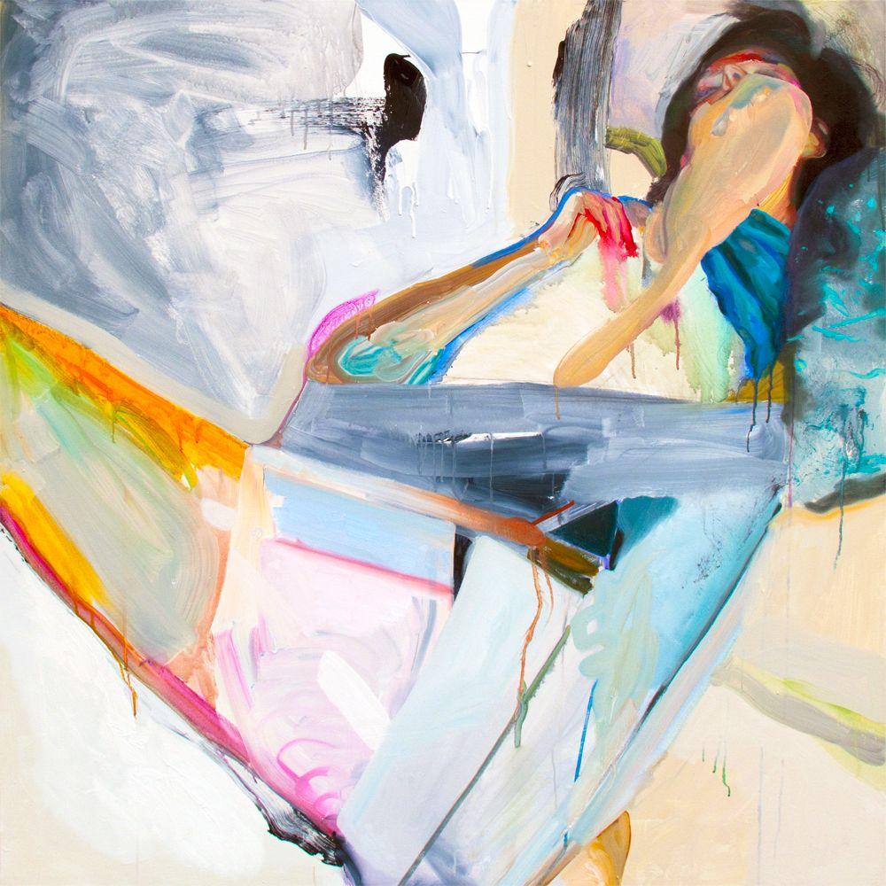 Winston Chmielinski. Driftwood, acrylic on canvas