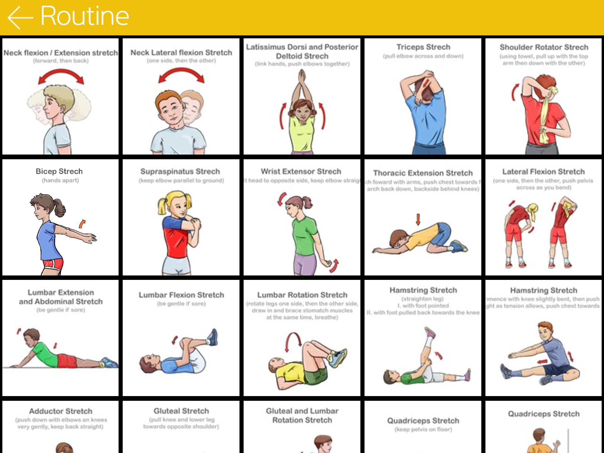 Stretch It | Stretching, Warm Up & Cool Down Task Cards ...