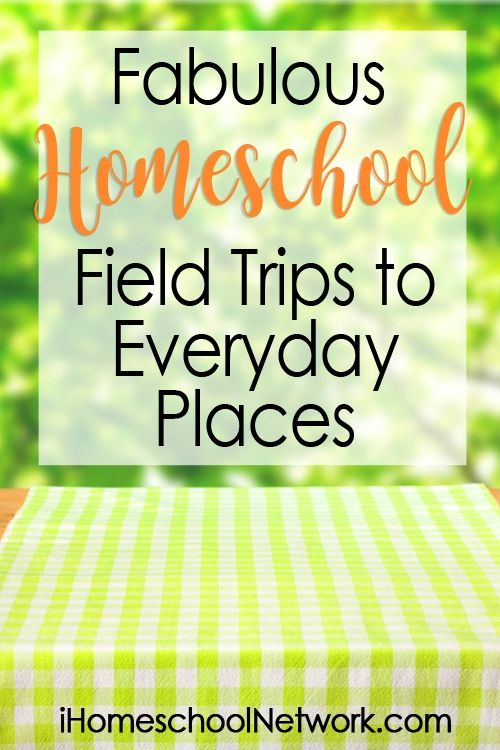 Fabulous Homeschool Field Trips to Everyday Places