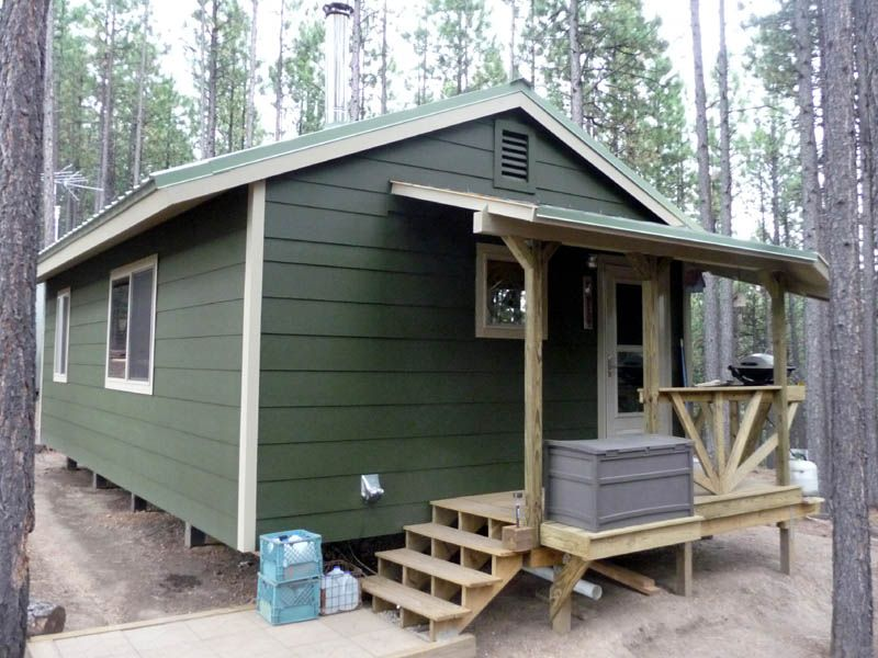 sloped porch cabin porch House exterior, Porch design