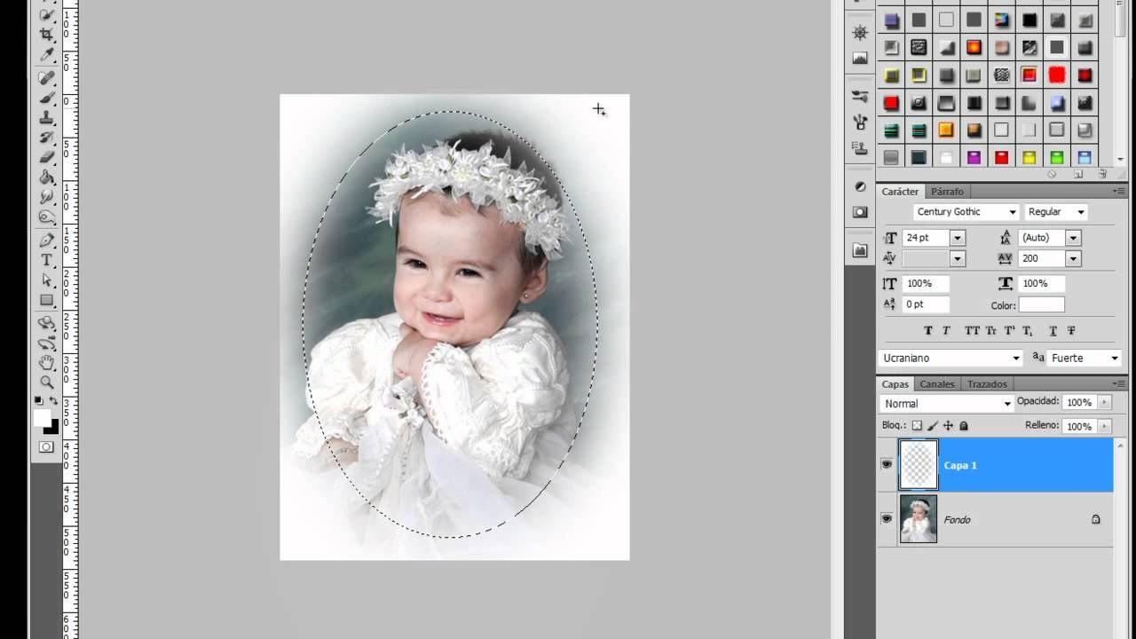 Marco desvanecido Caritas de Bebe #Photoshop | Photoshop y otros ...