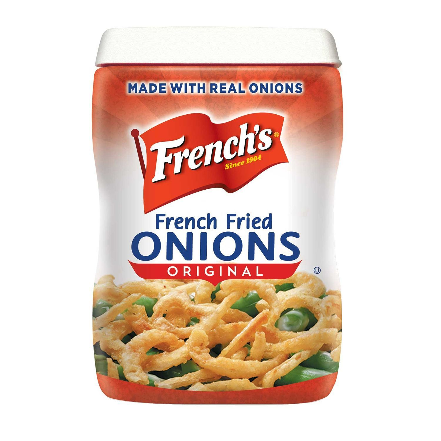 French S French Fried Onions Original 1 5 Lbs French Fried Onions Fried Onions Food