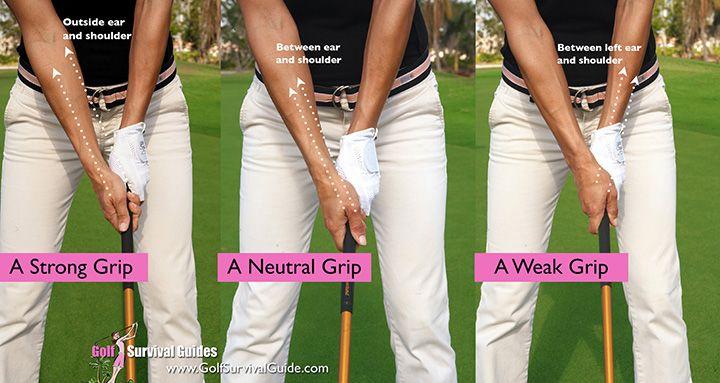 Golf fundamentals get a good grip golf tips for