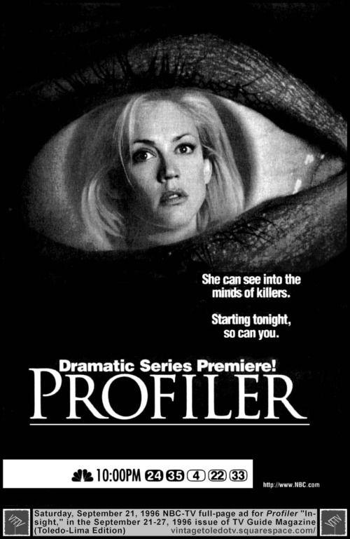 009 Profiler before CSI, Criminal Minds, any crime solving