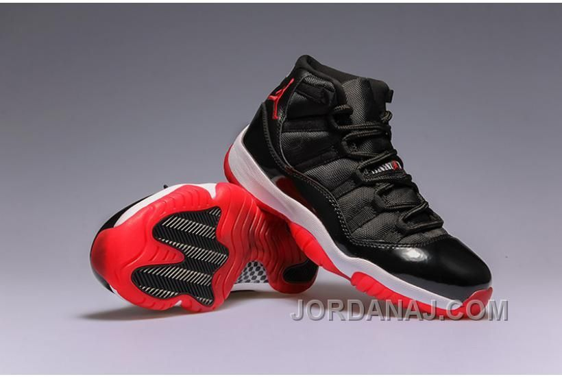 huge selection of 23c48 a022d AIR JORDAN 11 XI BRED BLACK VARSITY RED WHITE Only  85.00 , Free Shipping!