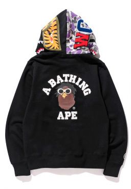 Hoodie 10th Store® Wiz Bape Nyc Clothing Zip Shark Full Khalifa I8BqFP