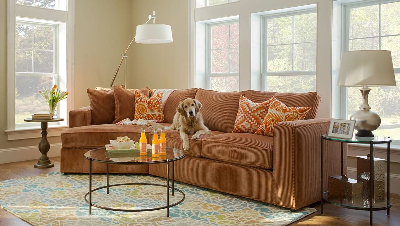 The Milford Sectional Is Norwalk S Ultimate Family And Pet Friendly Seating Option Photo