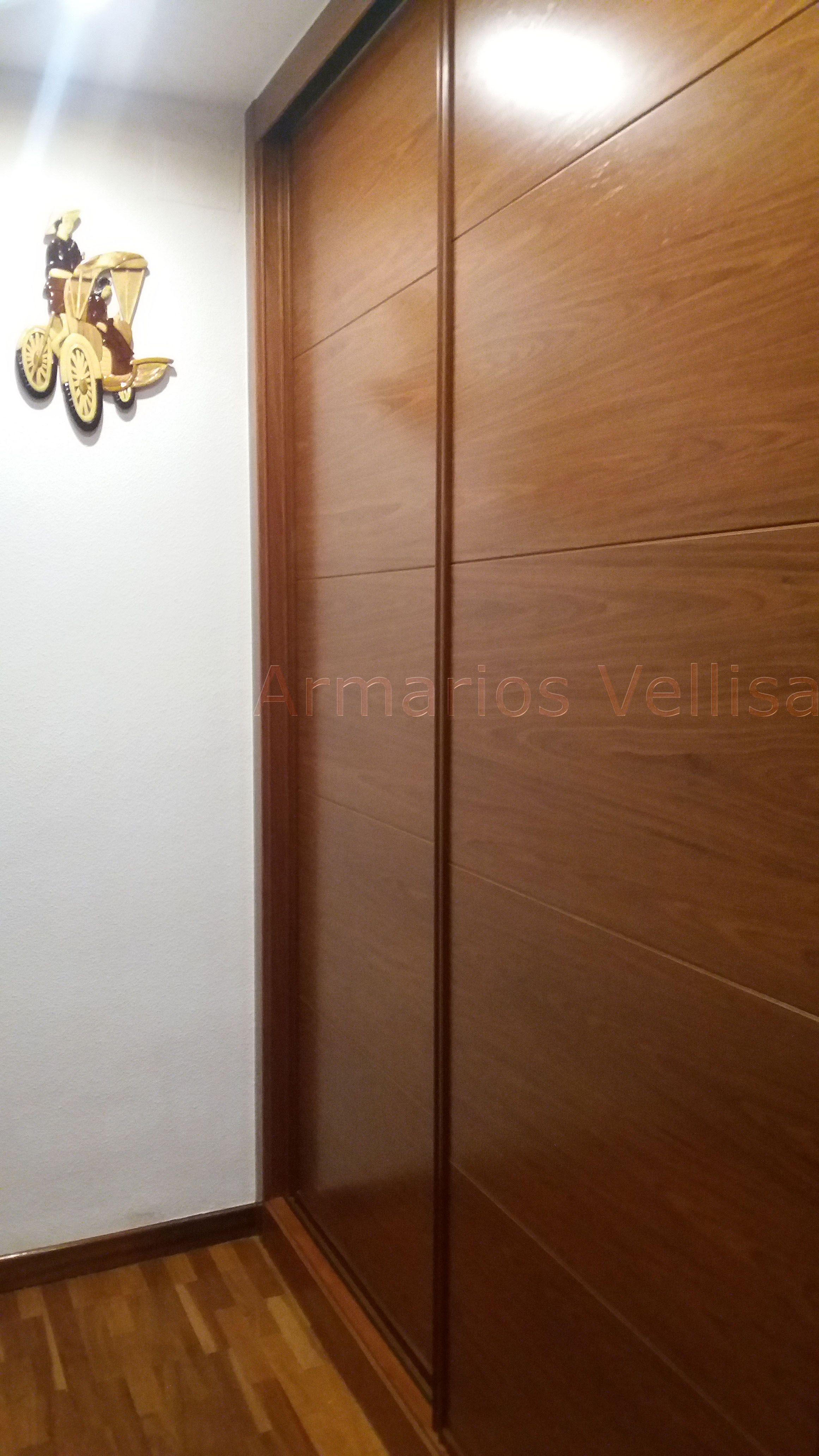 Armario empotrado en pasillo 239 x 181 x 66 2 puertas for Armarios roperos puertas correderas
