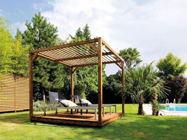 Top pergola en bois bricorama with salon de jardin bricorama - Mobilier jardin centrakor colombes ...