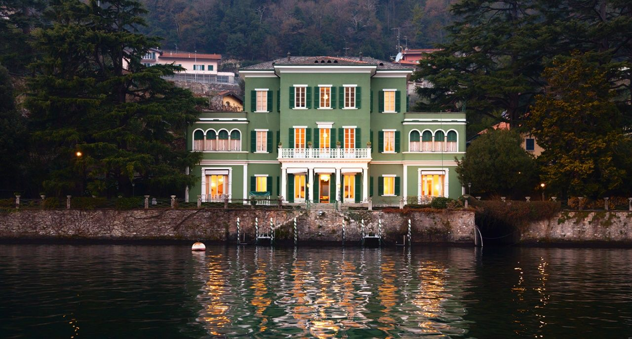 Want To Be George Clooney S Neighbour At Lake Como Lake Como Lake George Clooney