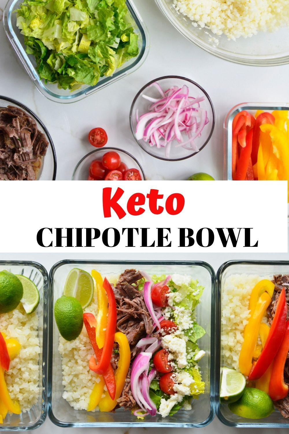 How to make a chipotle keto bowl low carb beans