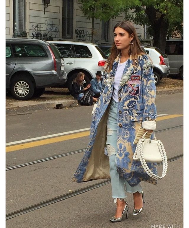 Streetstyle by Milano Fashion Week 2016