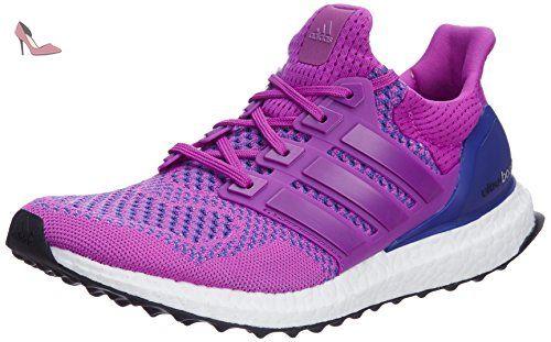 adidas Energy Boost 3, Chaussures de Running Compétition Femme, Violet-Purple (Super Purple S16/Ftwr White/Sun Glow S16), 44 EU