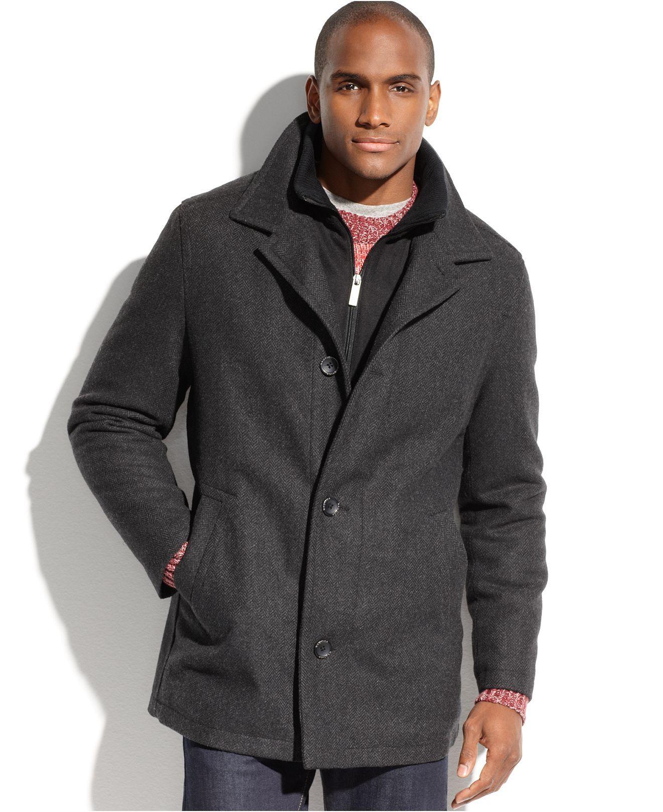Nautica Coat Wool Blend Wind And Water Resistant Car Coat Nautica Outerwear Men Macy S Car Coat Men S Coats And Jackets Coat [ 1616 x 1320 Pixel ]