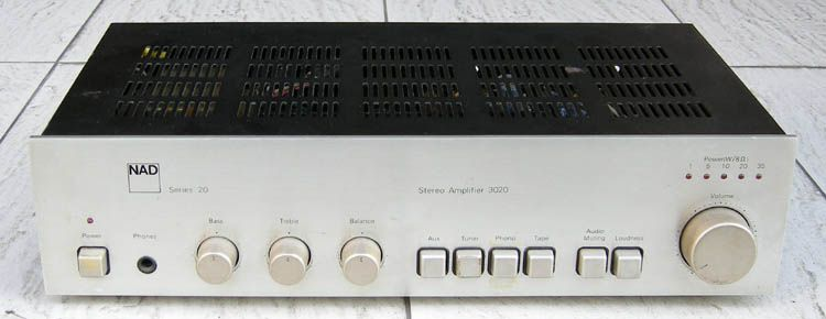 NAD 3020 Classic Amplifier Home Cinemas Audio In This Moment Theaters