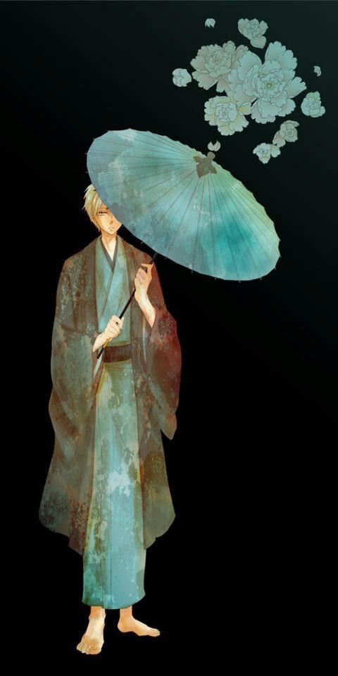 傘をさす黒子テツヤ