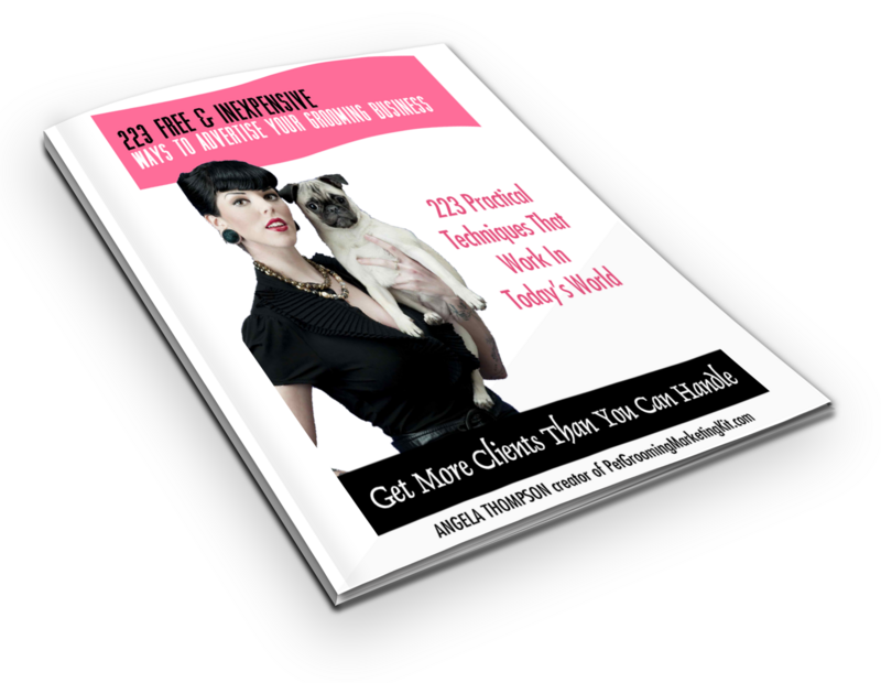 Dog Grooming Business Marketing Kit Complete Marketing
