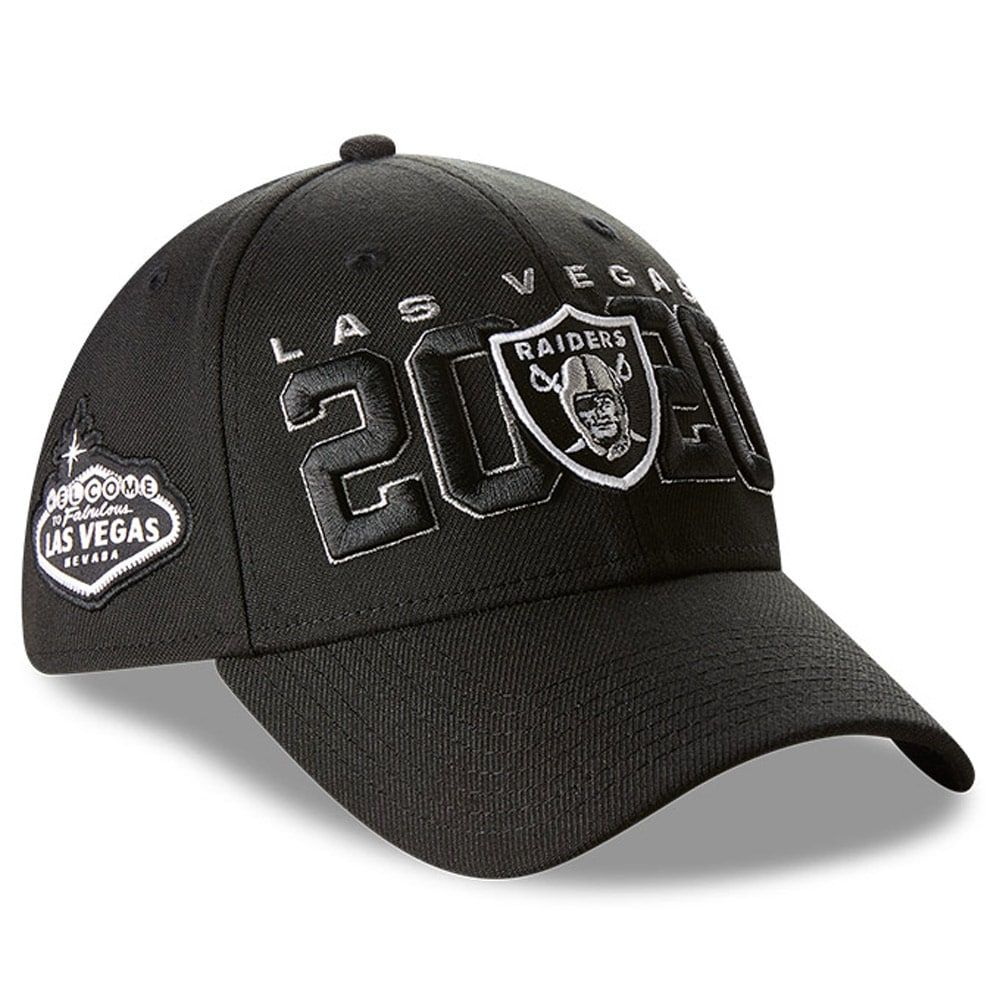 Men's Las Vegas Raiders New Era Black 2020 NFL Draft