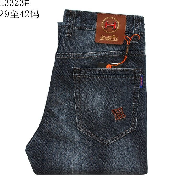 c9b446562923 Hermes Men Jeans POHERJEM025 cheap price. They look nice   Men s ...