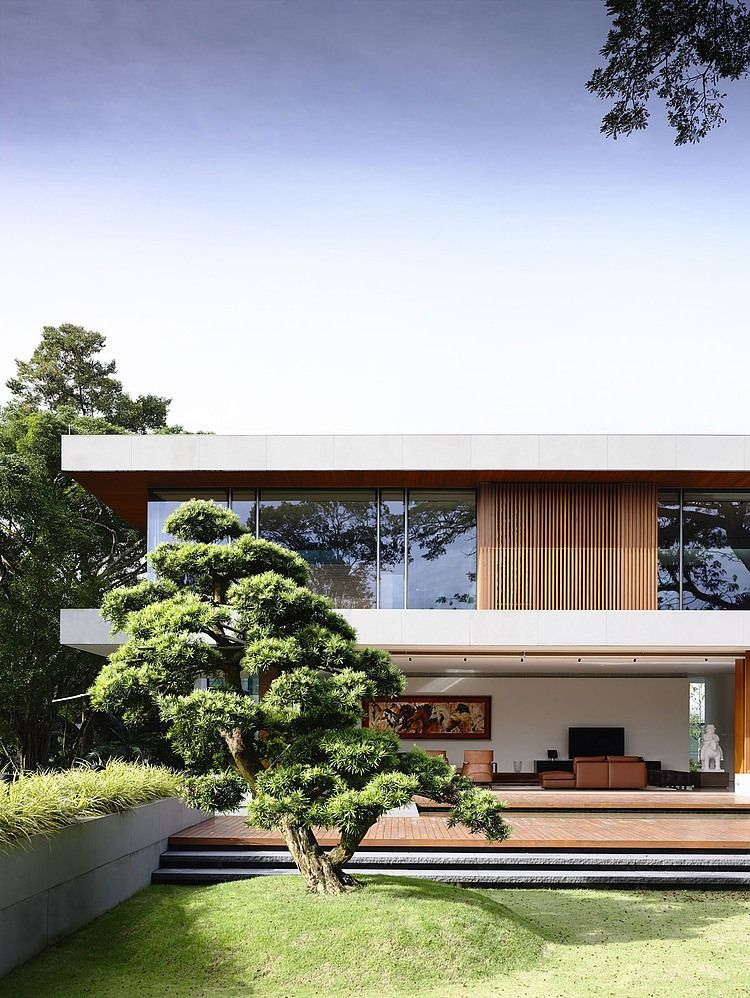 65btp House By Ong Ong Homeadore Architecture Exterior Architecture Residential Architecture