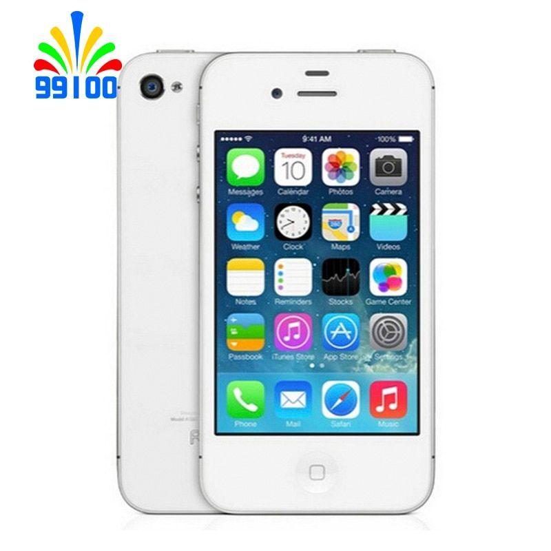 Original Apple Iphone 4s Factory Unlock Phone Dual Core 16gb 32gb 64gb 8mp Camera Gps 3 5 Touchscreen Used Phone Www In 2020 Iphone 4s Handy Shop Iphone 5s