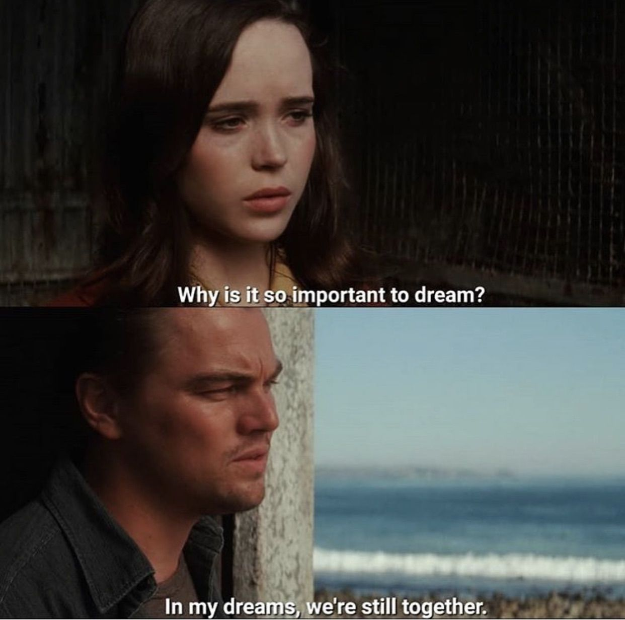 7 Movies To Watch While Stuck Inside On We Heart It Inception Movie Movie Quotes Movies