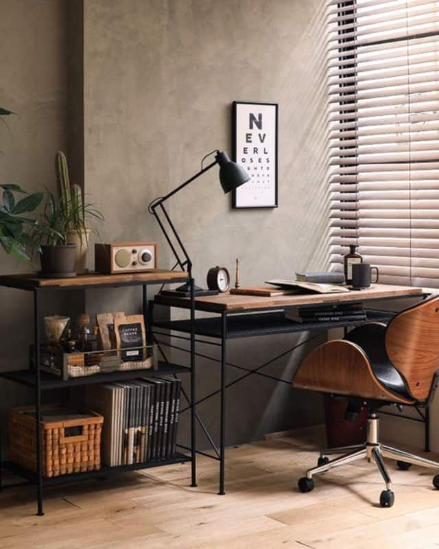Scandinavian Homeoffice Design: A Moody, Movie Themed Office Design On A Tight Timeline