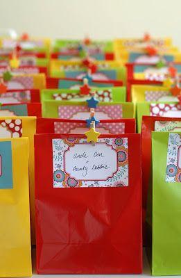 17+ 1st birthday treat bags inspirations