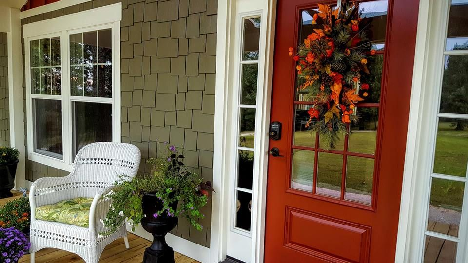 Sherwin Williams Red Barn Red Paint Front Door Colors
