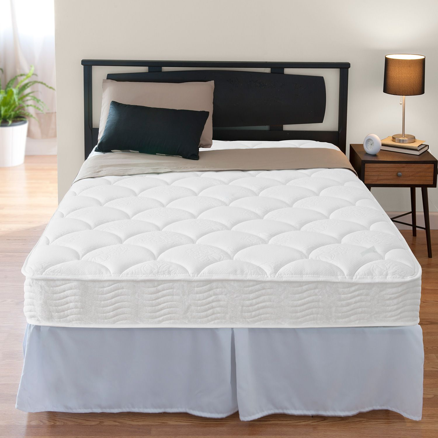 Zinus Night Therapy Icoil 8 Spring Full Mattress And Smartbase