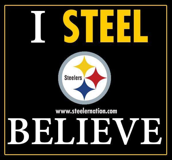Steeler Nation ...I am not a fake fan :)   Steelers ...