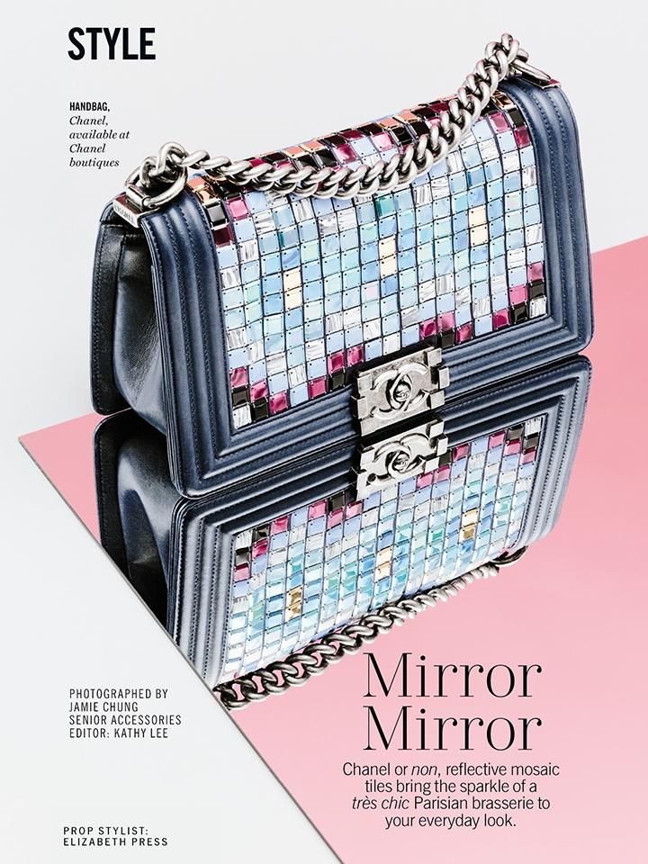 The It Bag Returns With Tomasini's Mirrored Crossbody