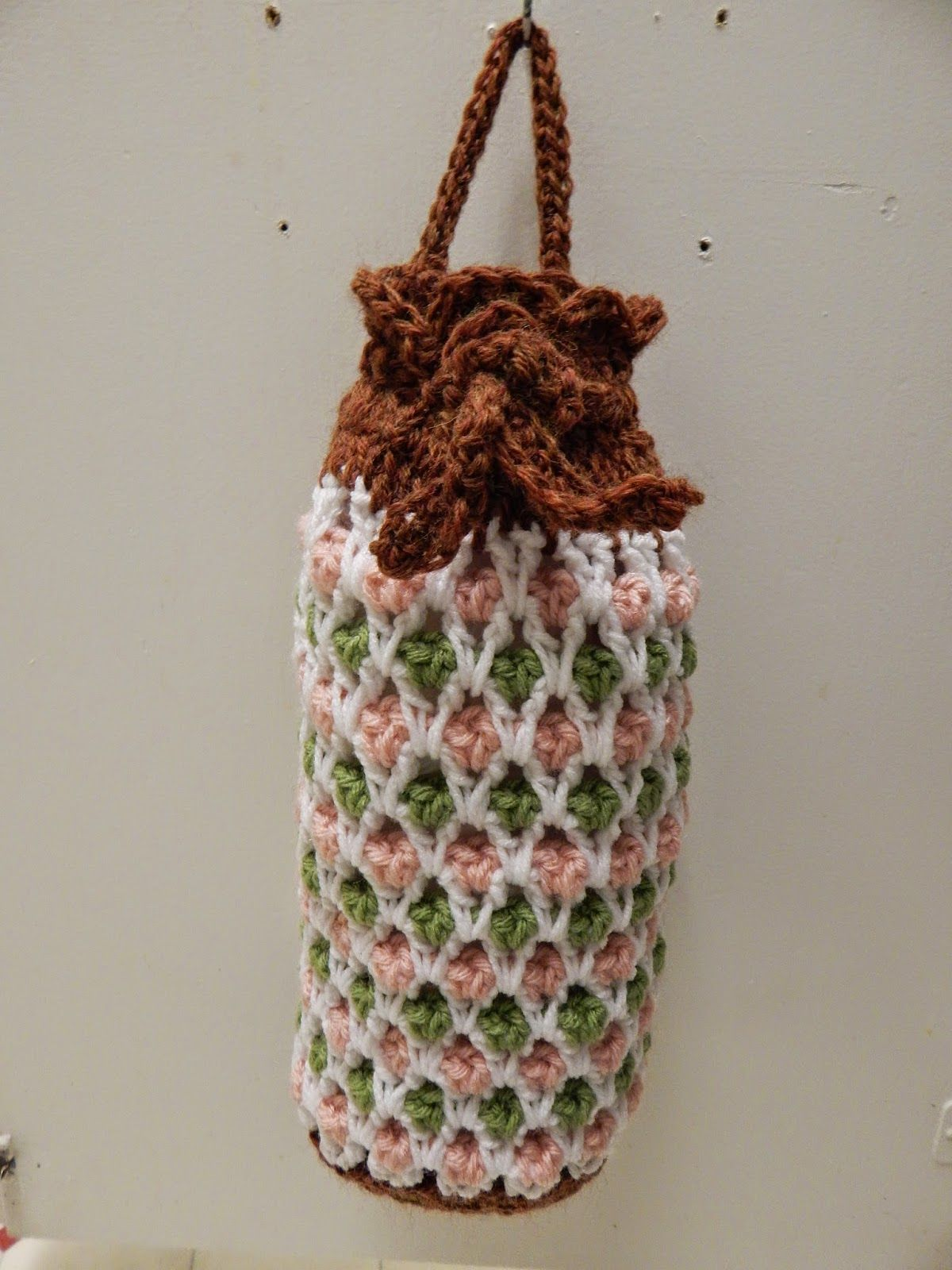 Free Pattern for Crochet Plastic Grocery Bag Holder by Becky ...