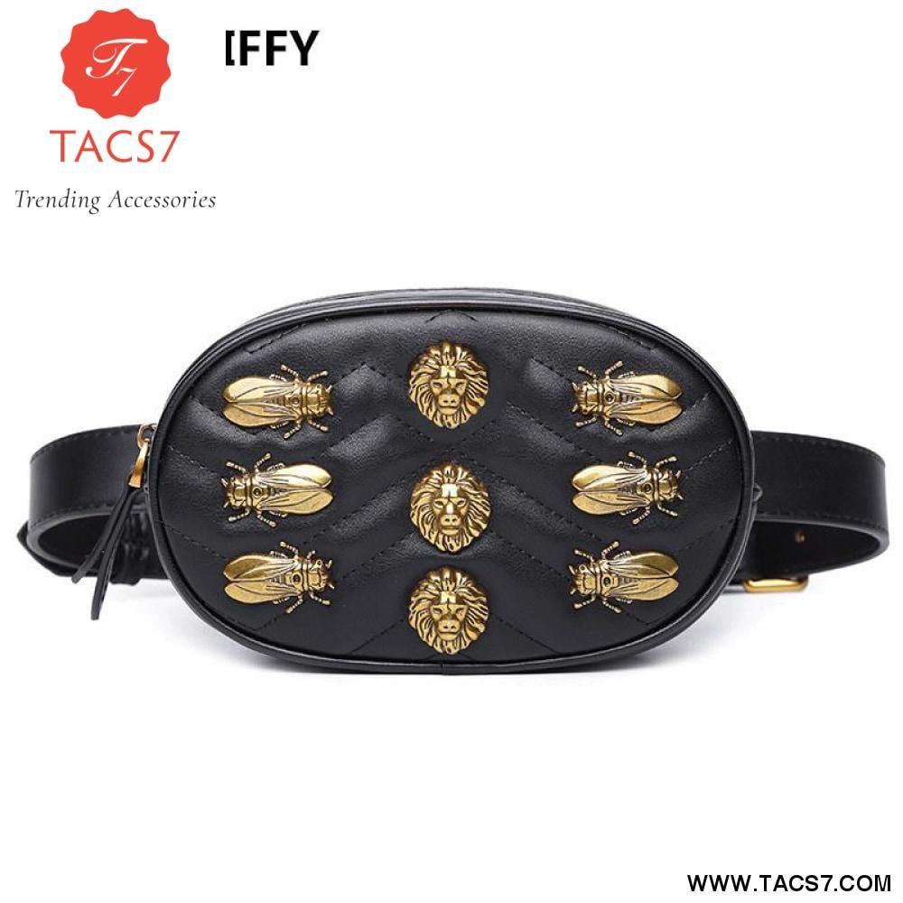 3facf2a83ea Luxury Beetle Waist Belt Bag – Trending Accessories | TACS7-Trending ...