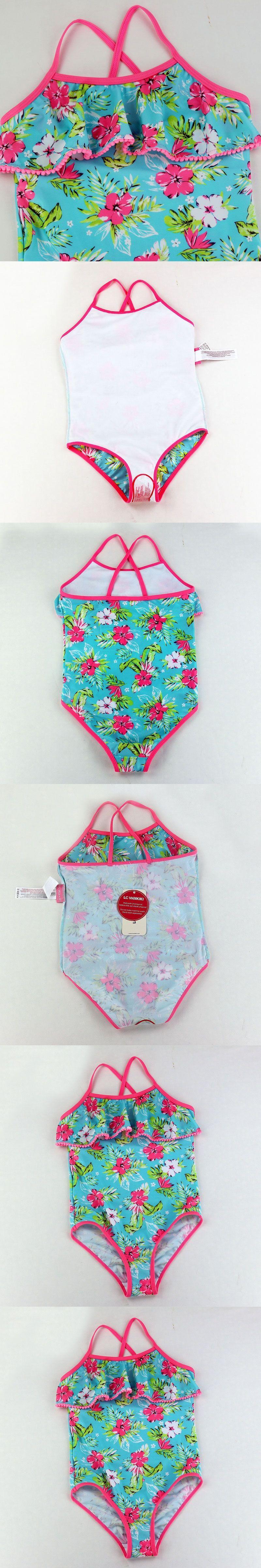 Children Bathing Suit Retail Cute Children s Swimsuit Girls Flowers