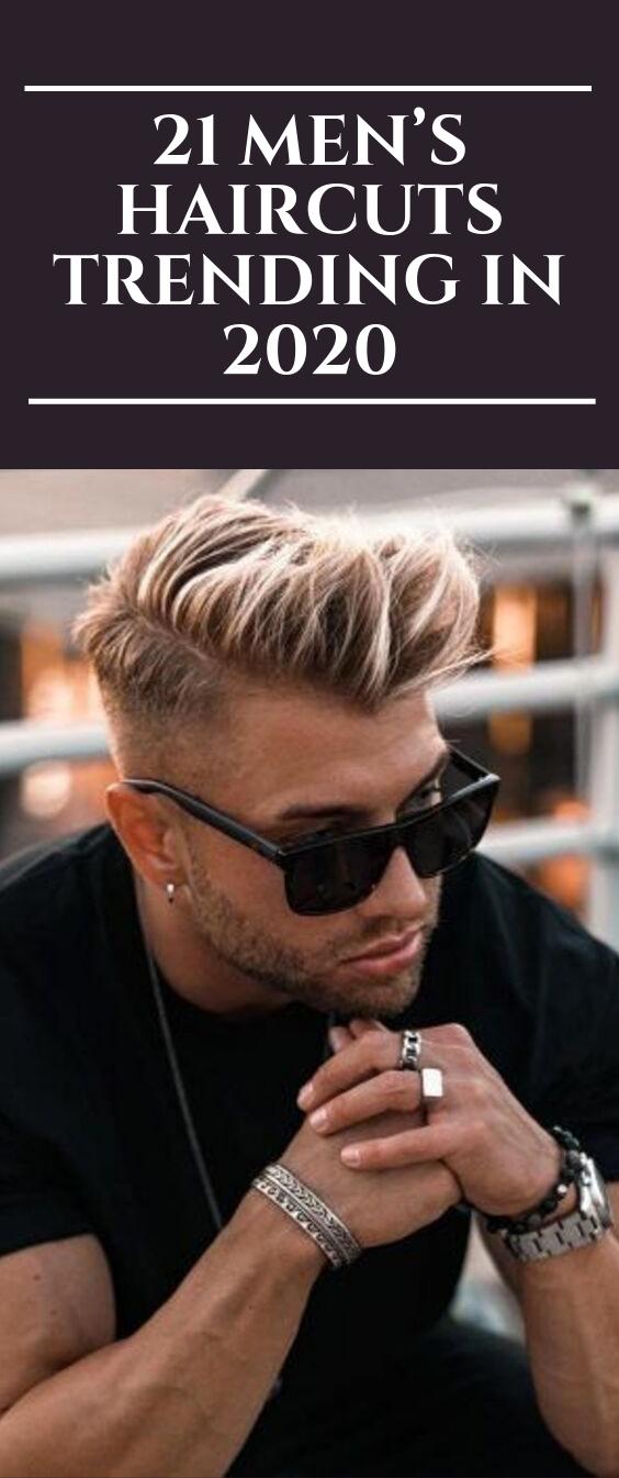 Photo of 21 Men's Haircuts Trending in 2020