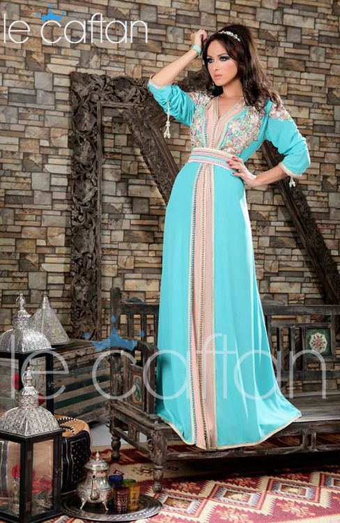 Robe marocaine pour fiancaille