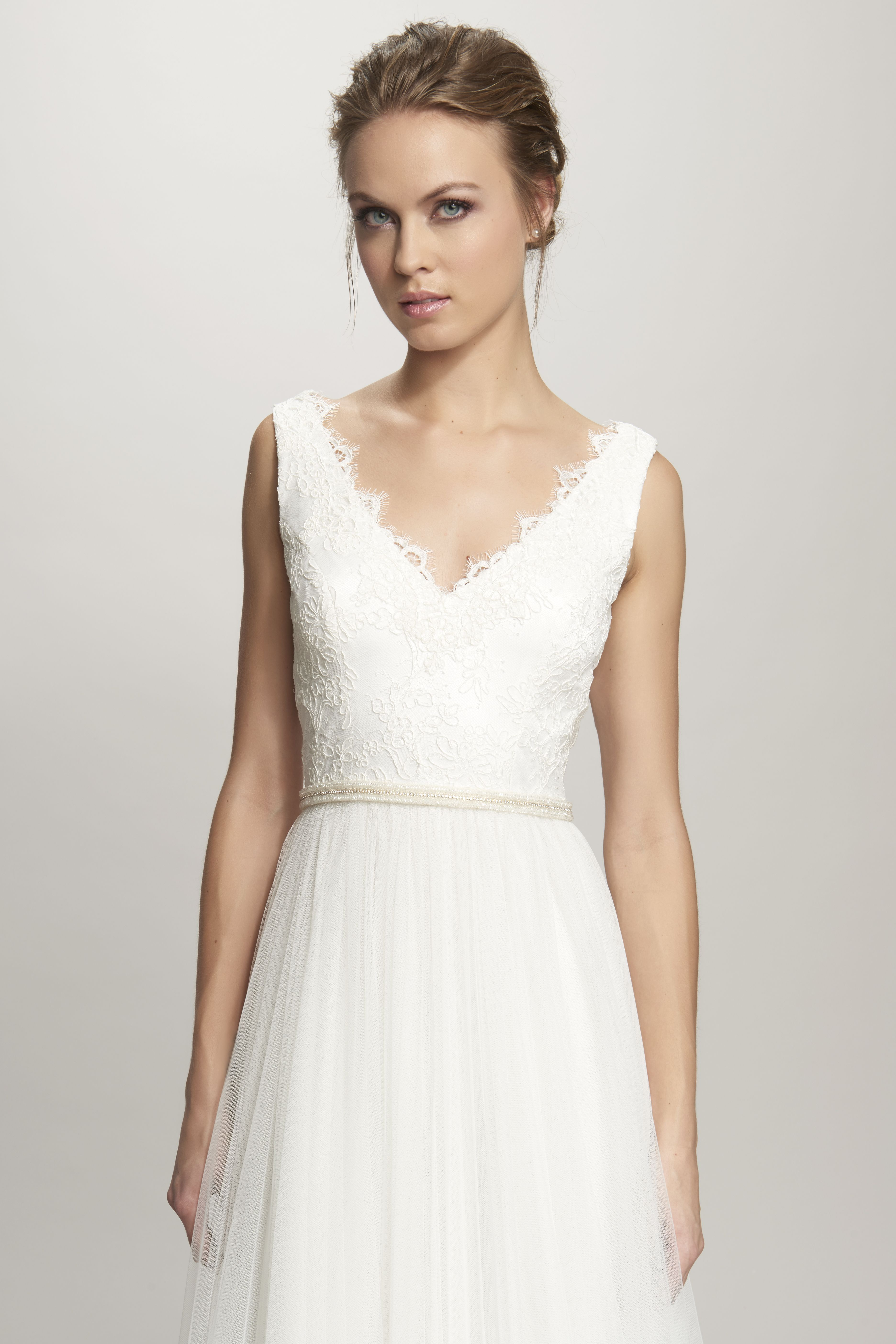 Theia wedding dresses  Khloe Belt Bridal Gown  THEIA Bridal  wedding dresses  Pinterest