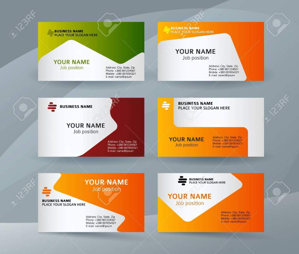Abstract Professional And Designer Business Card Template Or Intended For Professional Name Visiting Card Templates Business Card Mock Up Business Card Design