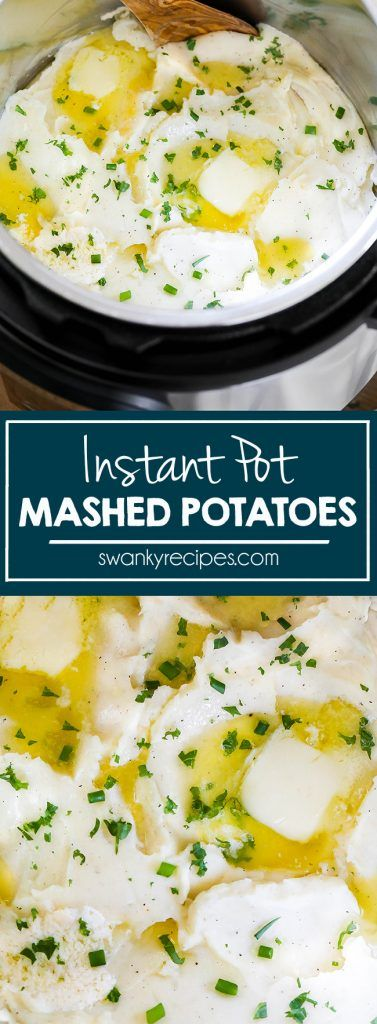 Instant Pot Mashed Potatoes #instantpotmashedpotatoes