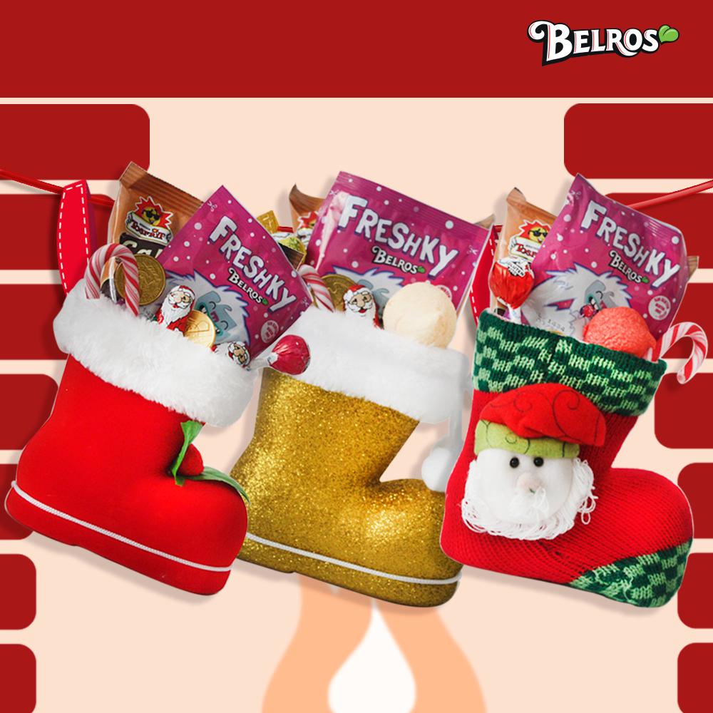 Calcetines rellenos de caramelos navidad navidad 2013 - Calcetines de navidad personalizados ...