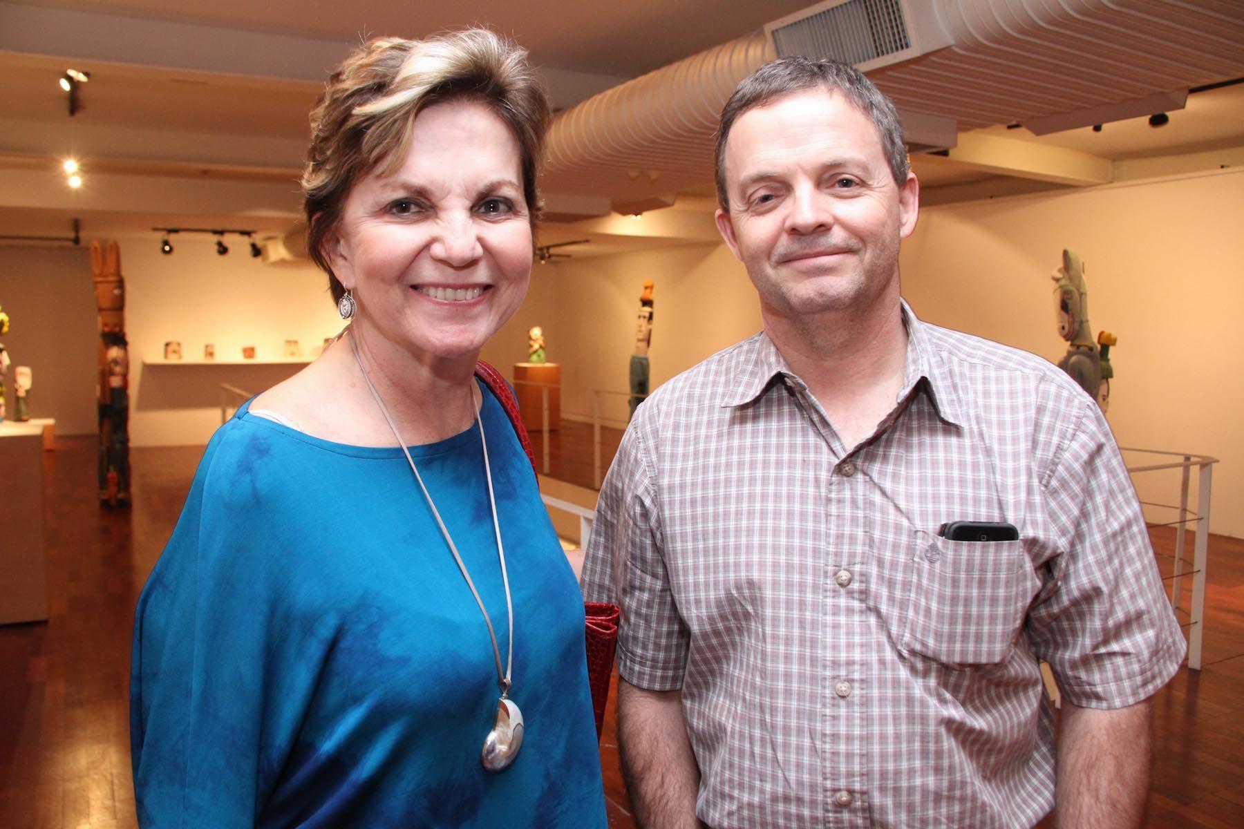 Ana Paula Saraiva e Antônio Coutinho