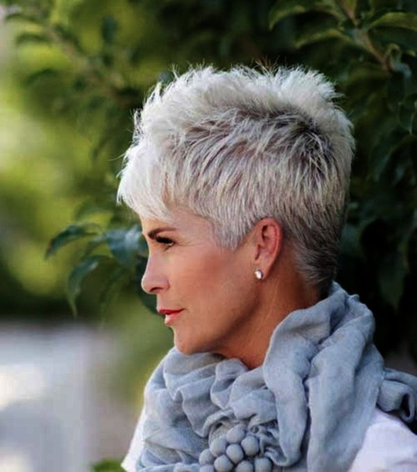 55 Anti Aging Short Hairstyles For Older Women Short