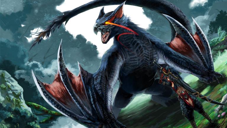 The New Trailer Of Monster Hunter World Iceborne Has The Nargacuga Monster Hunter World Monster Hunter Monster Hunter Art