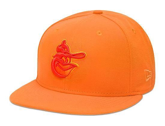 81477b6ad3dc9 ... cheap custom baltimore orioles tonal pop orange popsicle 59fifty fitted  baseball cap by new era x