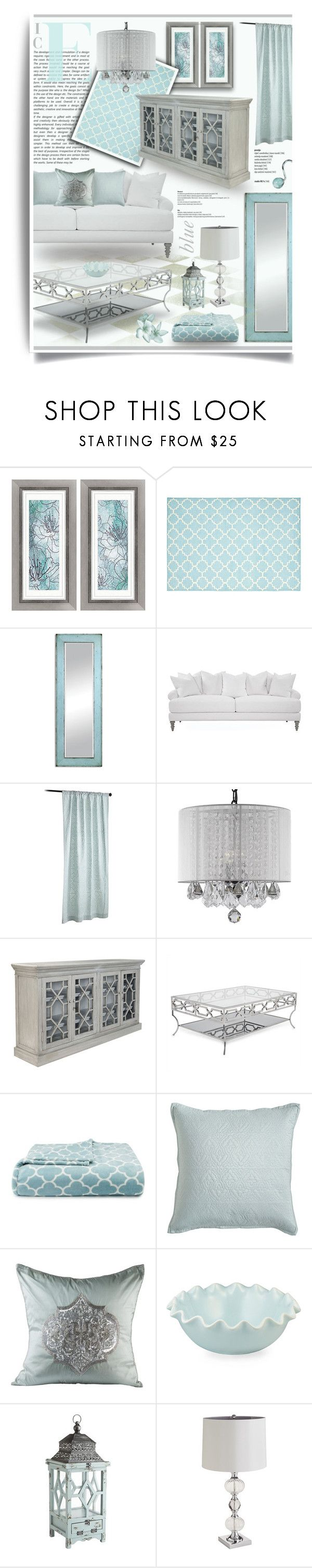 Ice Blue Silver Living Room Decor Silver Living Room