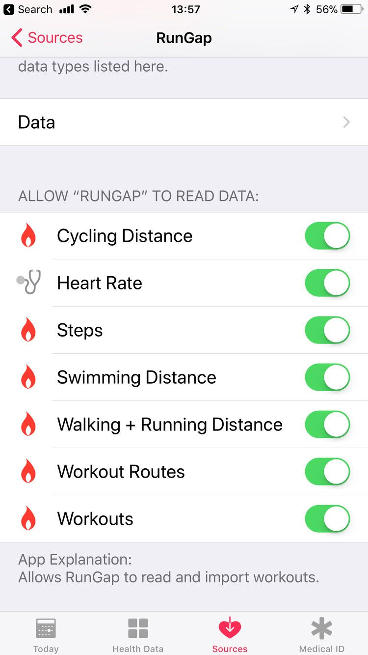 Uploading Workout data from Apple Watch to Strava and