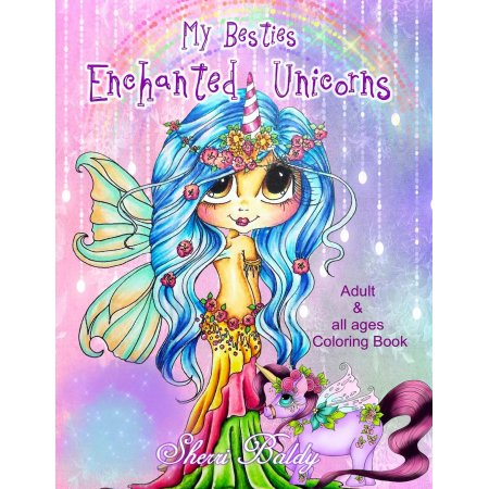 Sherri Baldy My Besties Enchanted Unicorn Coloring Book Paperback Walmart Com In 2021 Mermaid Coloring Book Coloring Books Mermaid Coloring
